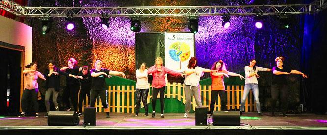 Die Golden Girls probten am Donnerstag noch einmal ihren Tanz.
