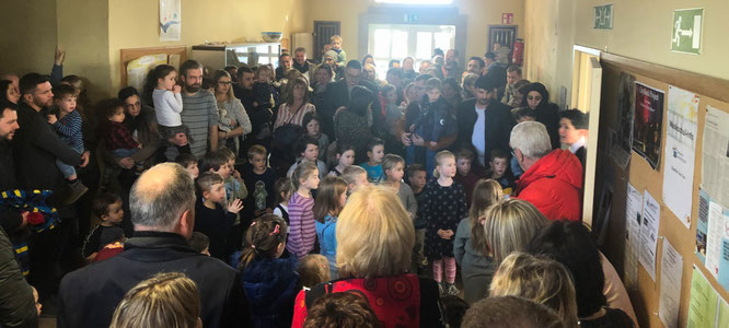 Viele Eltern und Großeltern kamen zu der Veranstaltung am Sonntag.
