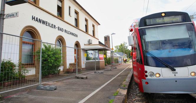 Die zwei letzten Züge des Tages fallen noch bis September aus.