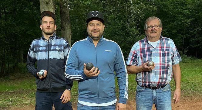 Das Männerteam des TuS Bliesransbach.
