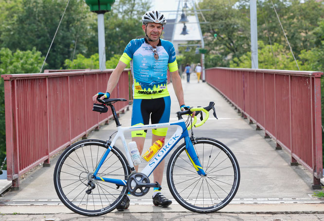 Alexander von Oetinger ist ein Hobbyradfahrer und erlebte beim Race Across America das Abenteuer seines Lebens.