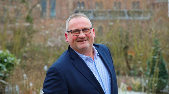 Johannes Martin möchte Bürgermeister von Kleinblittersdorf werden.