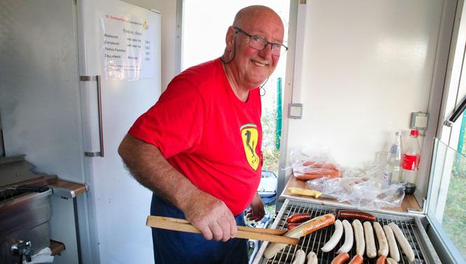 Walter Quack hat im Jahr 1989 das erste Sommerfest der Elterninitiative ins Leben gerufen. Seit dem sind knapp 300 000 Euro für kranke Kinder gespendet worden.