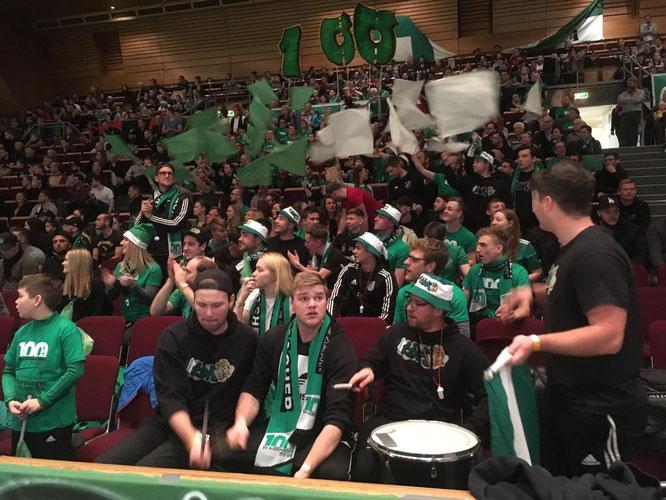 Auch die Fans des SV Auersmacher waren die großen Gewinner in der Saarlandhalle.