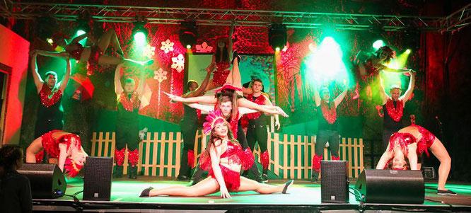 Der Tex-Mix der Kappeskepp ist mit sieben Frauen und sieben Männern eine außergewöhnliche Tanzformation an der Oberen Saar.