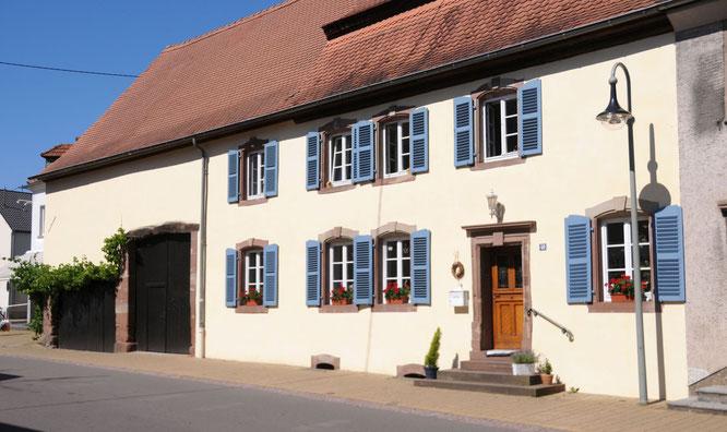 Eines der im Landeswettbewerb 2016 prämierten Bauernhäuser in Kleinblittersdorf.