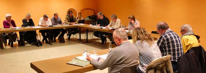 Seit vier Jahren ist Erika Heit bereits Ortsvorsteherin und leitet die Sitzungen des Ortsrates von Rilchingen-Hanweiler.