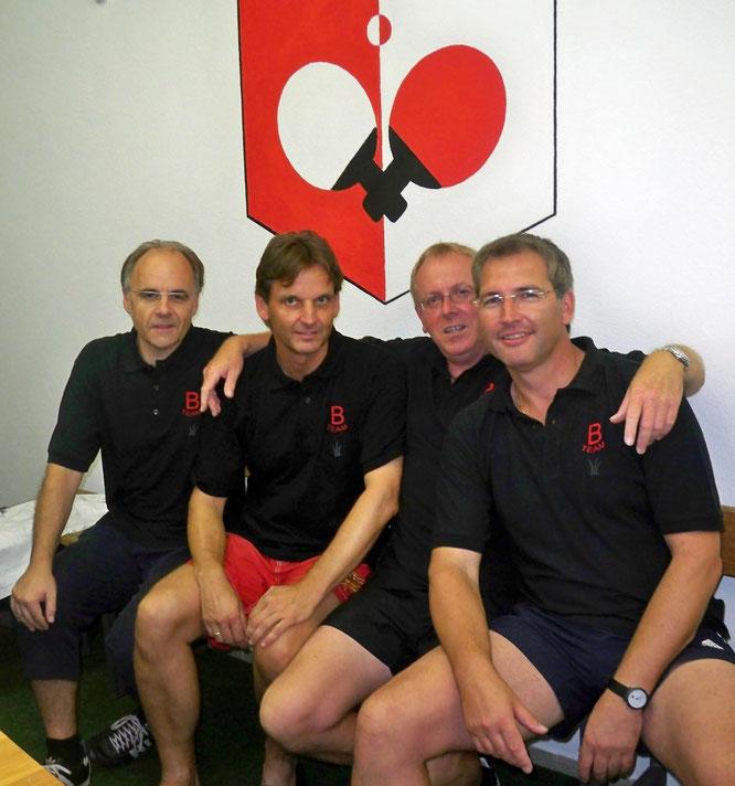 Erste Hobbygruppe 2006 v.l. Markus Bur, Peter Wolf, Detlev Breier, Michael Bähr.
