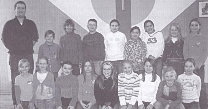 Der Auersmacher Kinderchor im Jahr 2006