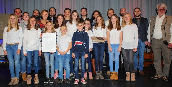 Der Kulturpreis 2018 geht an die Junge Bühne Auersmacher.