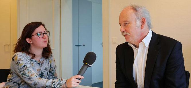 Interview mit Stephan Strichertz, dem Bürgermeister von Kleinblittersdorf