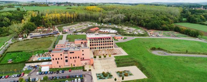 Die Saarland Therme in Rilchingen-Hanweiler haben aufgrund des Coronavirus geschlossen.