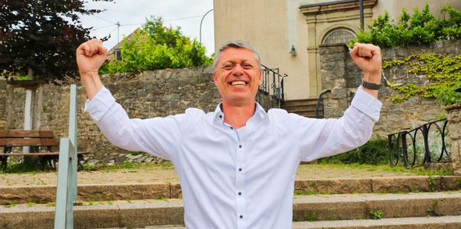 Rainer Lang (SPD) setzte sich mit 53,7 Prozent der Stimmen gegen Erika Heit (CDU) durch.