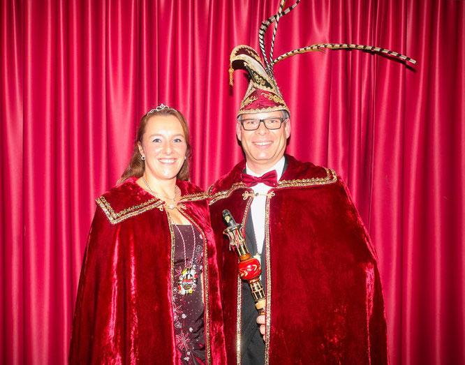 Janine I und Robert I von den Kowe