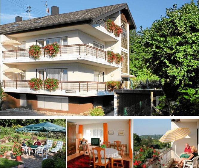 Ferienwohnungen Bella Vista in Bad Bellingen im Markgräflerland
