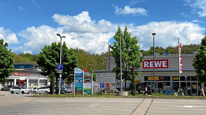 REWE Supermarkt, Bad Bellingen beim Kurpark
