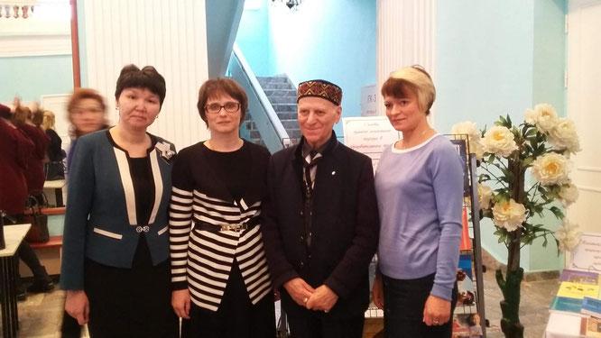 С легендарным педагогом Ш.А.Амонашвили