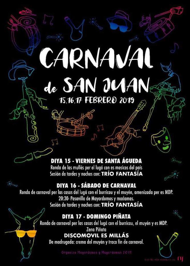 carnaval san juan de plan 2018