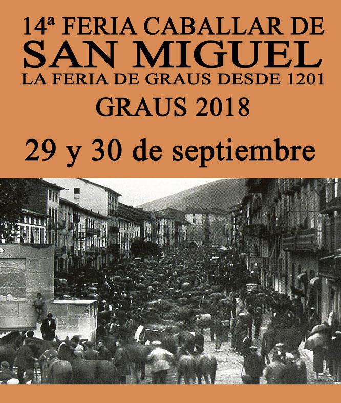 Feria Caballar San Miguel Graus 2018
