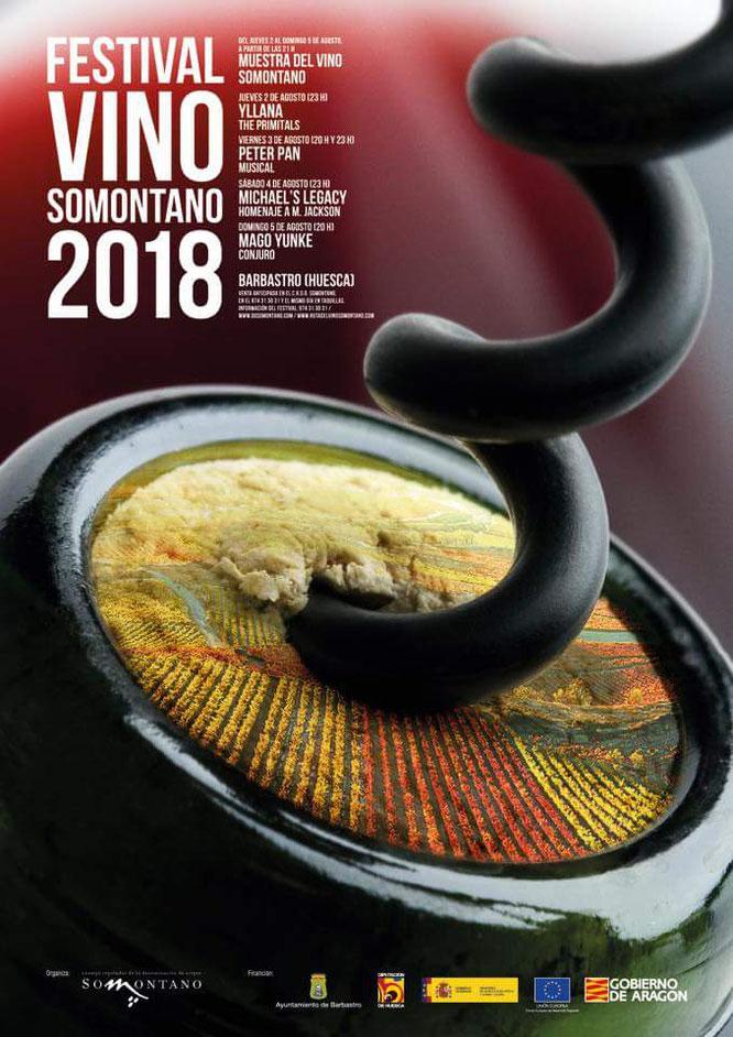 programacion festival vino somontano 2018