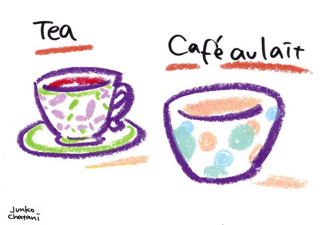 茶谷順子 コーヒーイラスト コーヒーカップイラスト