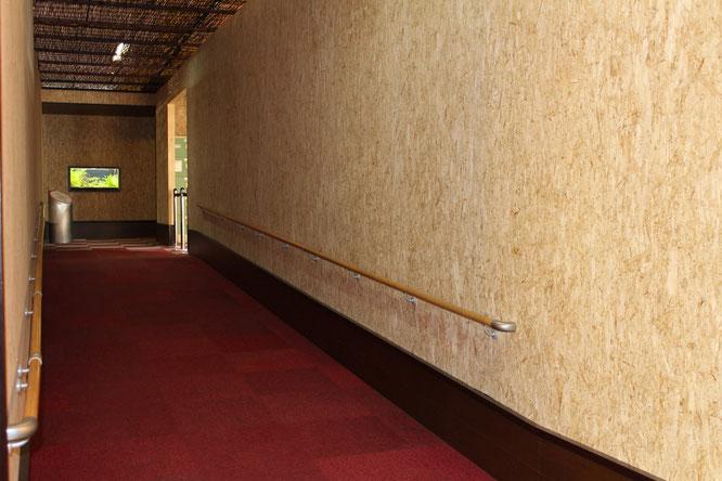 館内入口スロープ