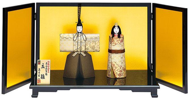 真多呂人形「本金 和泉立雛セット」品番:1903