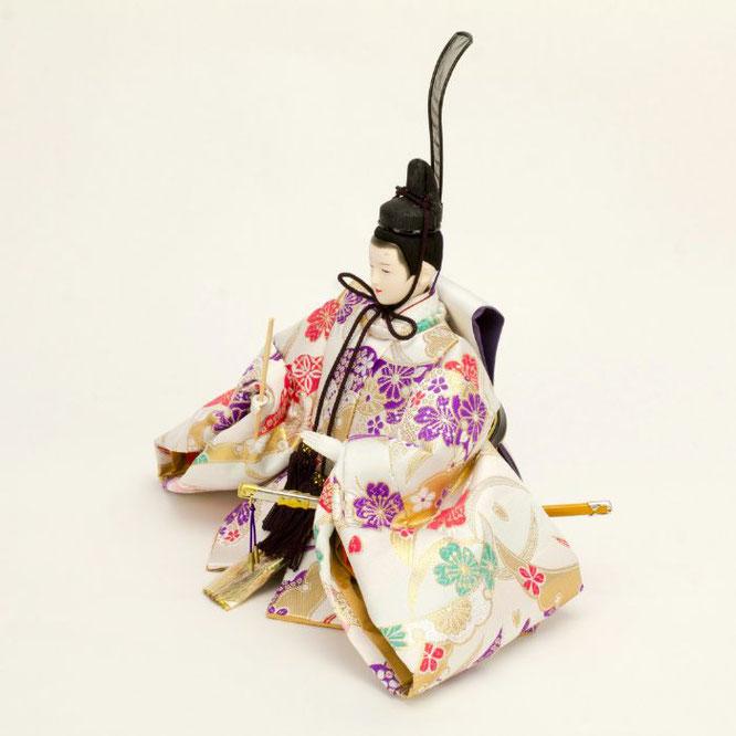 ひな人形 五人飾り 4H15-GP-004 男雛(横)