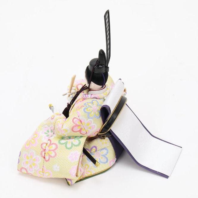 ひな人形 五人収納箱飾り 4H16-GP-019 男雛(横)