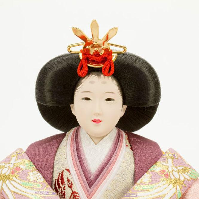ひな人形 親王飾り 4H11-GP-049 女雛(顔)