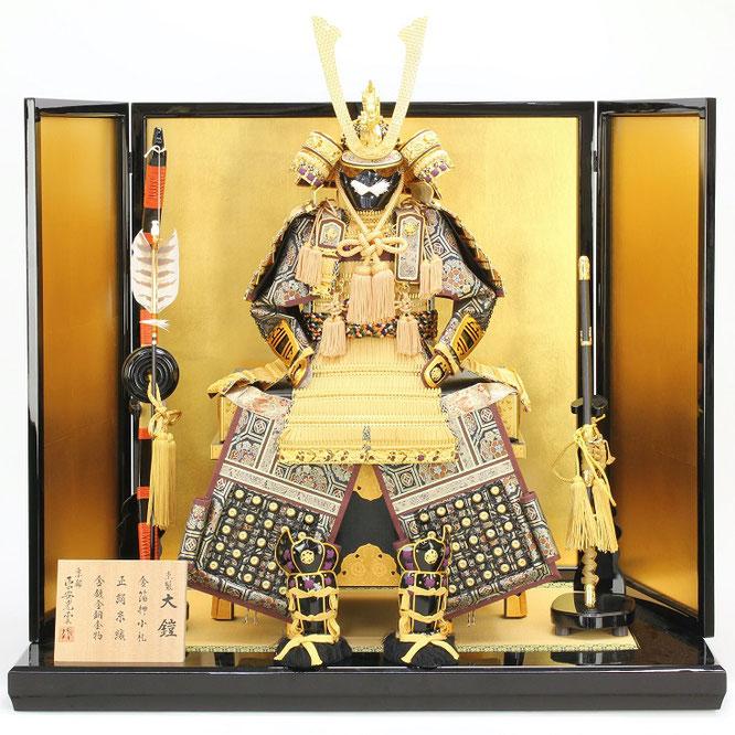 平安光雲作「京製 大鎧12号平飾り」