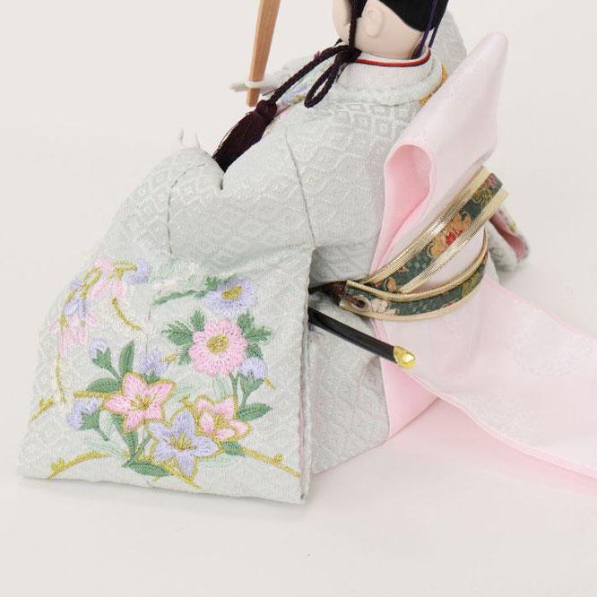 ひな人形 親王収納箱飾り 4H12-GP-070G 男雛(横)