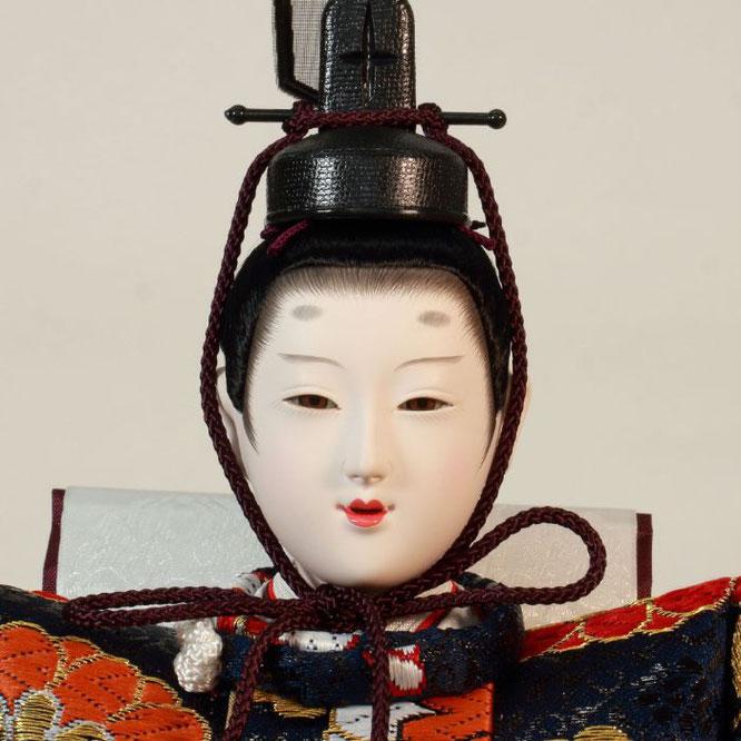 ひな人形 五人飾り 4H15-GP-003A 男雛(正面)