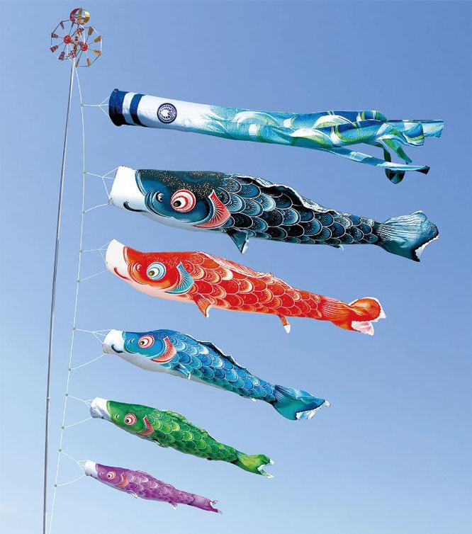 大型鯉のぼり「風舞い」