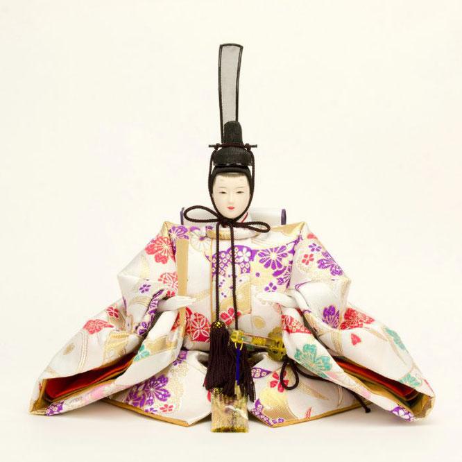 ひな人形 五人飾り 4H15-GP-004 男雛(正面)