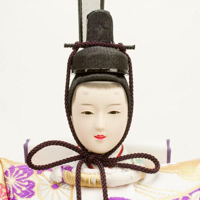 ひな人形 五人飾り 4H15-GP-004 男雛(顔)