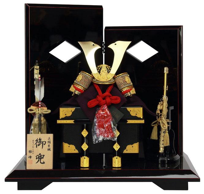 雅峰作「兜8号平飾り」品番:6F21-AA-232