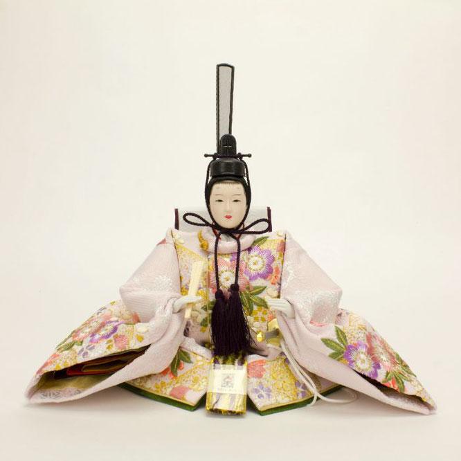 ひな人形 親王飾り 4H11-GP-043 男雛(正面)