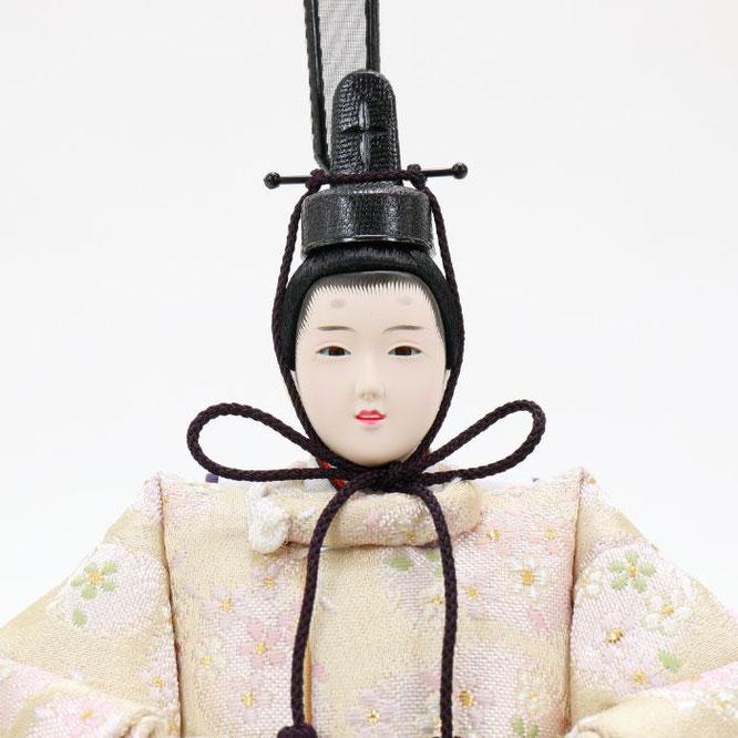 ひな人形 五人収納箱飾り 4H16-GP-023 男雛(顔)