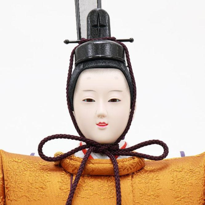 ひな人形 五人飾り 4H15-GP-005 男雛(顔)