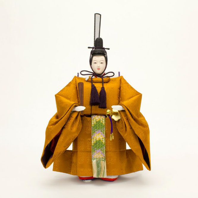ひな人形 立雛飾り 4H13-GP-304 男雛(正面)