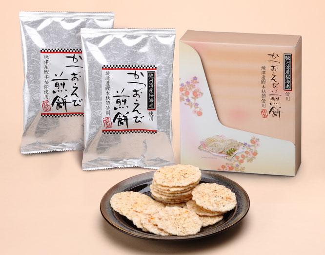 初盆用返礼品 駿河湾産桜海老使用 えび煎餅 1,080円
