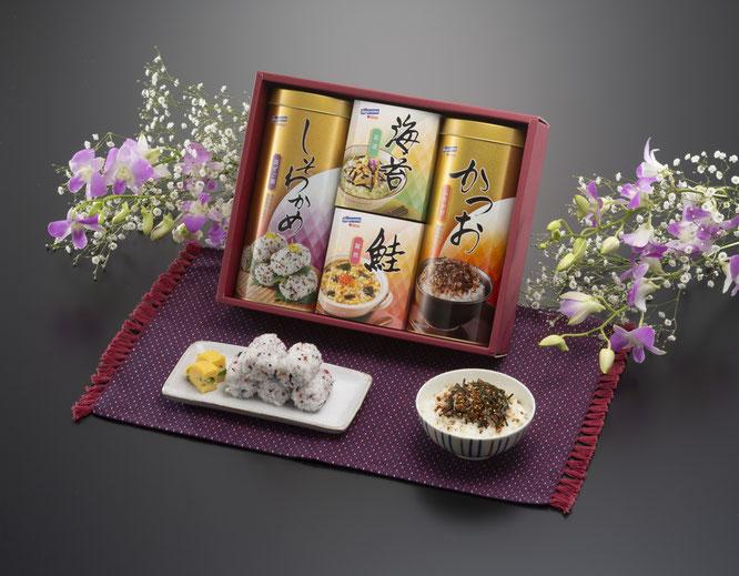 初盆用返礼品 和善の彩りバラエティセット 2,000円(税込価格2,160円)