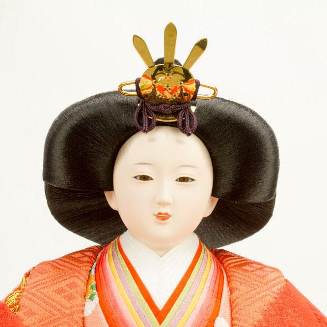 ひな人形 五人飾り 4H15-GP-001 女雛(顔)