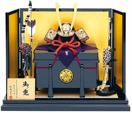 家紋台座(兜平飾りに貼り付けイメージ)