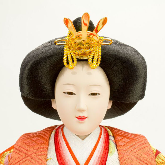 ひな人形 五人飾り 4H15-GP-002 女雛(顔)