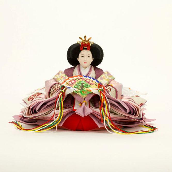 ひな人形 親王飾り 4H11-GP-049 女雛(正面)