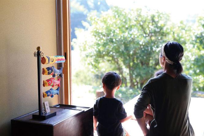室内飾り鯉のぼり「福寿」について