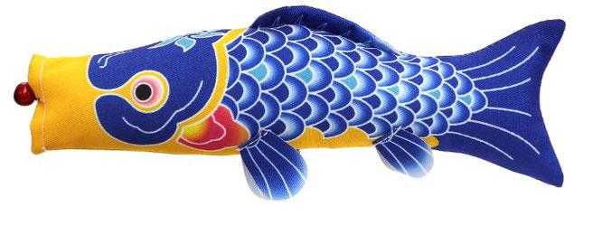 室内飾り鯉のぼり「福寿」青鯉