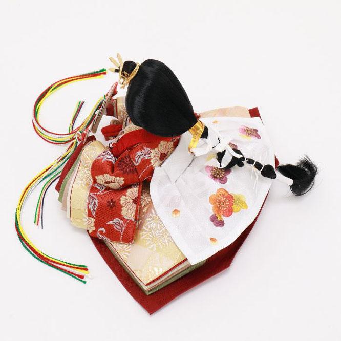 ひな人形 五人飾り 4H15-GP-032 女雛(横)